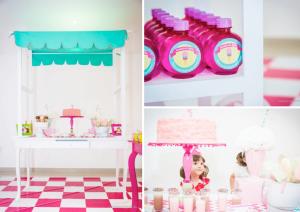 Ice Cream Shoppe 3rd Birthday party via kara's party ideas karaspartyideas.com #ice cream #party #ideas