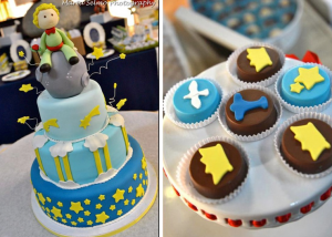 Little Prince Themed Birthday Party via Kara's Party Ideas www.KarasPartyIdeas.com