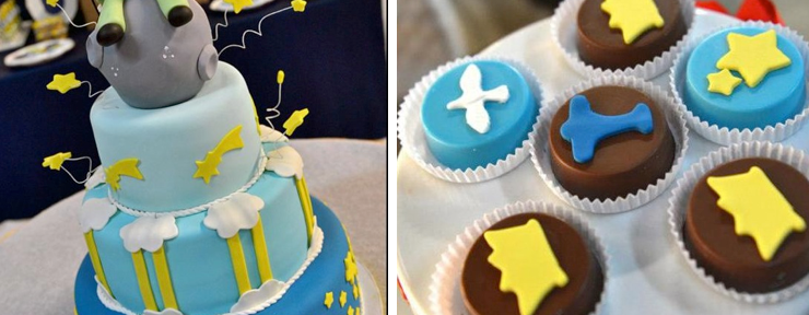 Little Prince Themed Birthday Party via Kara's Party Ideas www.KarasPartyIdeas.com