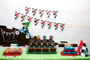 Motocross Dirt Bike Birthday Party via Kara's Party Ideas www.KarasPartyIdeas.com