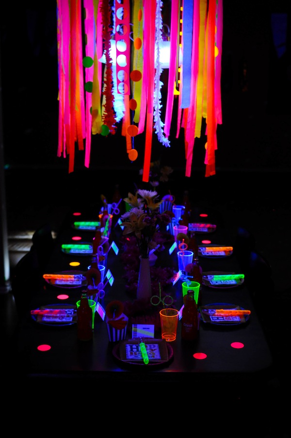 Glow Neon Party Supplies Neon Glow in The Dark Party