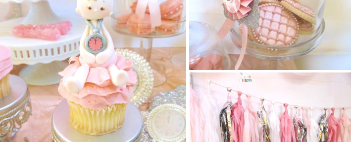 New Years Eve Themed Baby Shower via Kara's Party Ideas www.KarasPartyIdeas.com
