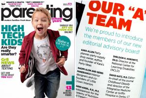 Parenting Magazine Editorial Advisory Board Kara's Party Ideas karaspartyideas.com