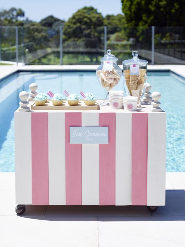 Kara S Party Ideas Retro Pink Flamingo Girl Birthday