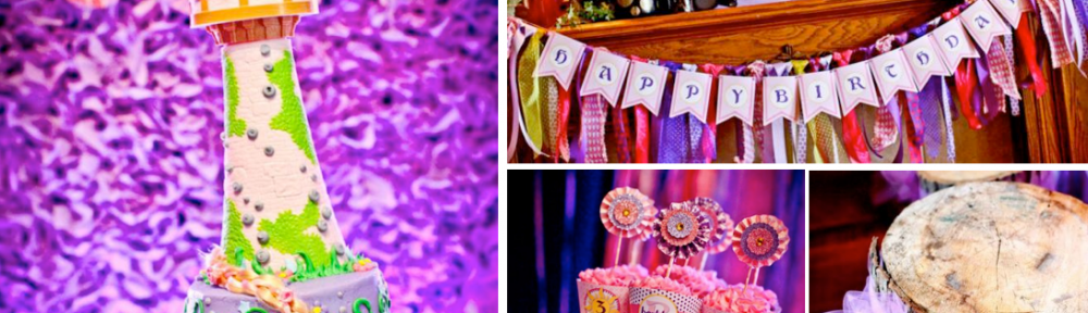 Rapunzel Tangled Birthday Party Planning via Kara's Party Ideas karaspartyideas.com #tangled #cake #rapunzel #party #ideas