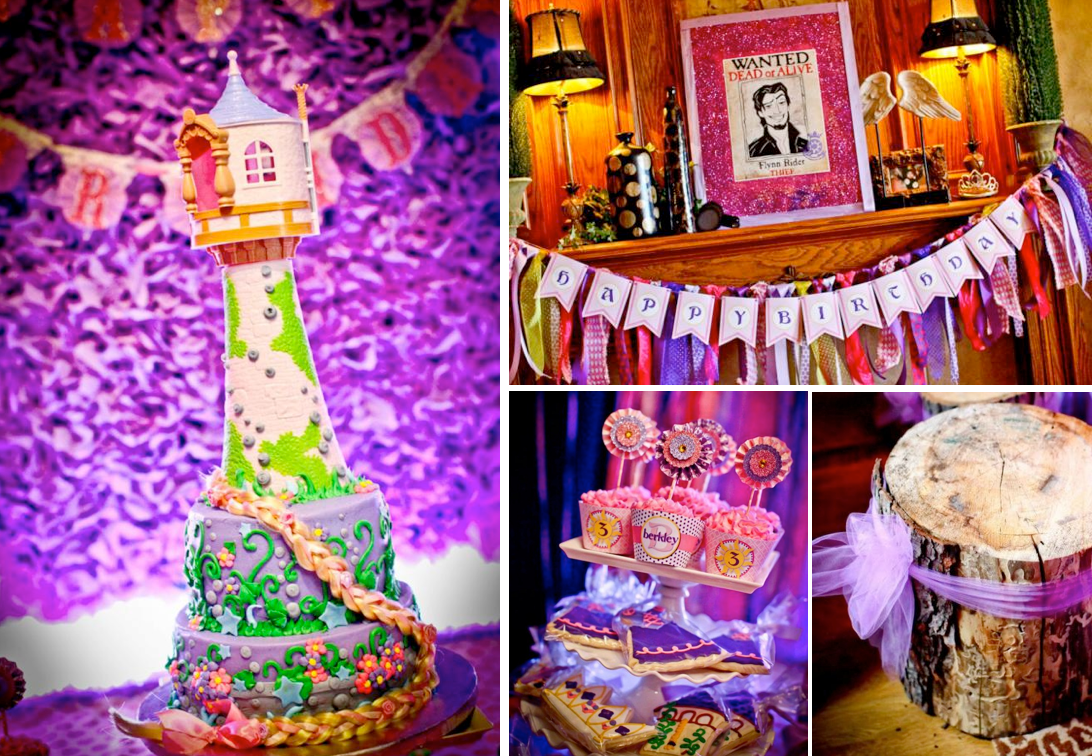 Karas Party Ideas Rapunzel Tangled 3rd Birthday Party