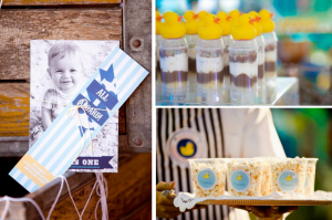 Sailor Duck First Birthday Party via Kara's Party Ideas www.KarasPartyIdeas.com