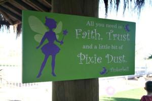 Tinker bell sign_600x400