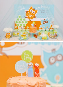 Woodland Owl Buddies Birthday Party via Kara's Party Ideas karaspartyideas.com #woodland #owl #birthday #party #ideas