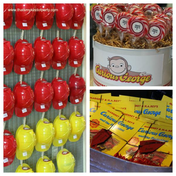 Items used in this party available in Kara\u0027s Party Ideas Shop & Kara\u0027s Party Ideas Curious George Boy Monkey 4th Birthday Party ...