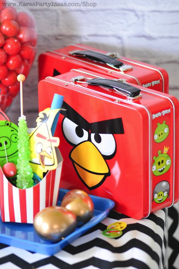 Kara\'s Party Ideas Angry Birds Themed Birthday Party Planning ...