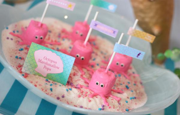 posted in girl parties kids parties little mermaid party ideas mermaid ...