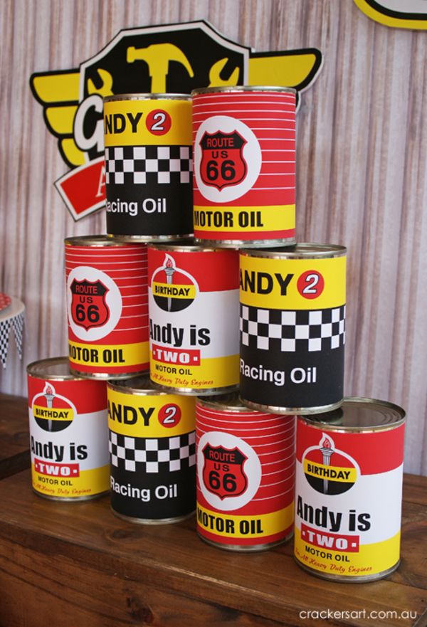 Lightning mcqueen party decorations - Kara S Party Ideas Vintage Rustic Race Car Mcqueen Cars