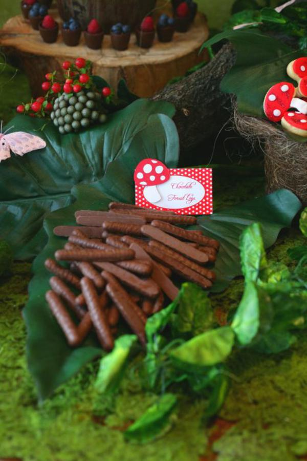Kara S Party Ideas Enchanted Forest Woodland Fairy Girl Birthday Party Planning Ideas