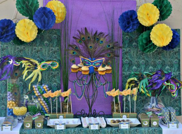 Decoration De Table Theme Bresil