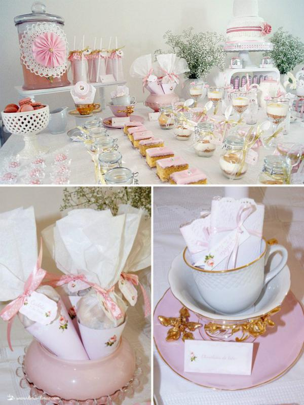 kara 39 s party ideas 1st birthday girl vintage shabby chic