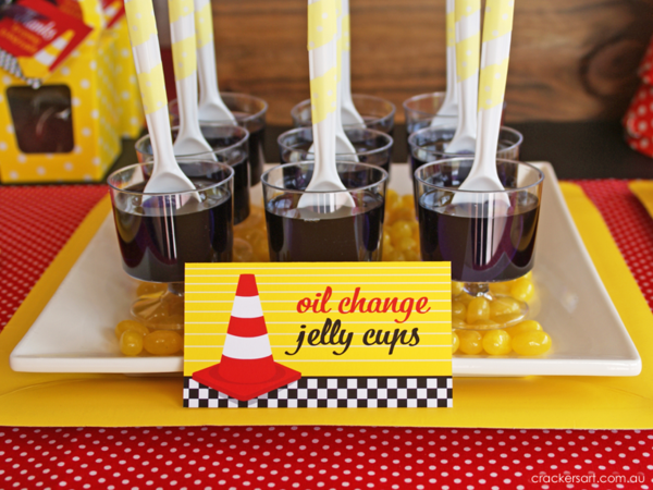 Race Car Birthday Party: Kara's Party Ideas Vintage Rustic Race Car McQueen Cars