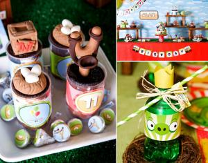 Angry Birds Themed Birthday Party via Kara's Party Ideas karaspartyideas.com #angry #birds #party #ideas