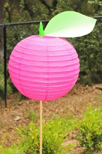 Apple of my eye themed birthday party via Kara's Party Ideas karaspartyideas.com #girl #party #idea #apple #pink #birthday-11