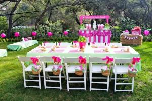 Apple of my eye themed birthday party via Kara's Party Ideas karaspartyideas.com #girl #party #idea #apple #pink #birthday-19