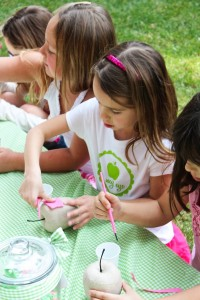 Apple of my eye themed birthday party via Kara's Party Ideas karaspartyideas.com #girl #party #idea #apple #pink #birthday-35