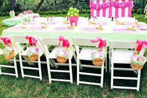 Apple of my eye themed birthday party via Kara's Party Ideas karaspartyideas.com #girl #party #idea #apple #pink #birthday-5