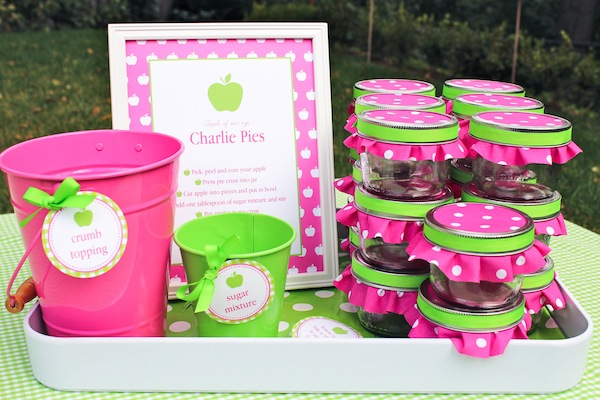 Apple Of My Eye Themed Birthday Party Via Karas Ideas Karaspartyideas Girl Idea Pink 8