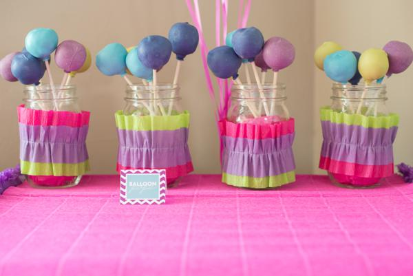 Karas Party Ideas Balloon Pop Themed 2nd Birthday Party