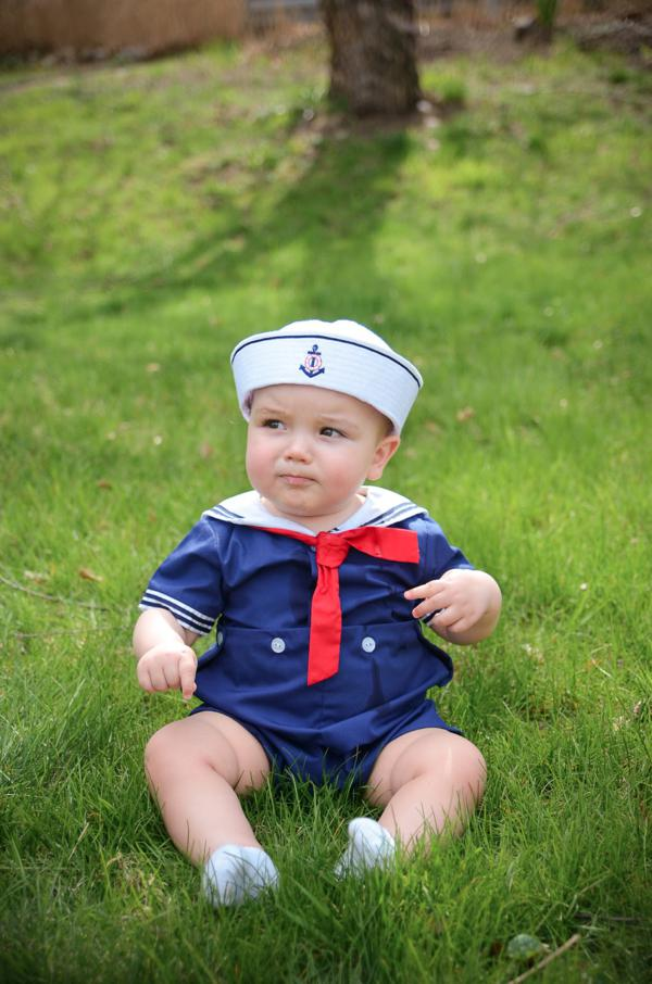 Kara S Party Ideas Nautical Sailor Boat Boy 1st Birthday