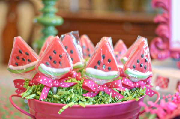 paper party decorations watermelon