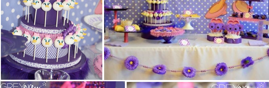 Daisy Duck Themed Birthday Party Disney via Kara's Party Ideas karaspartyideas.com #disney #daisy #duck #party #ideas