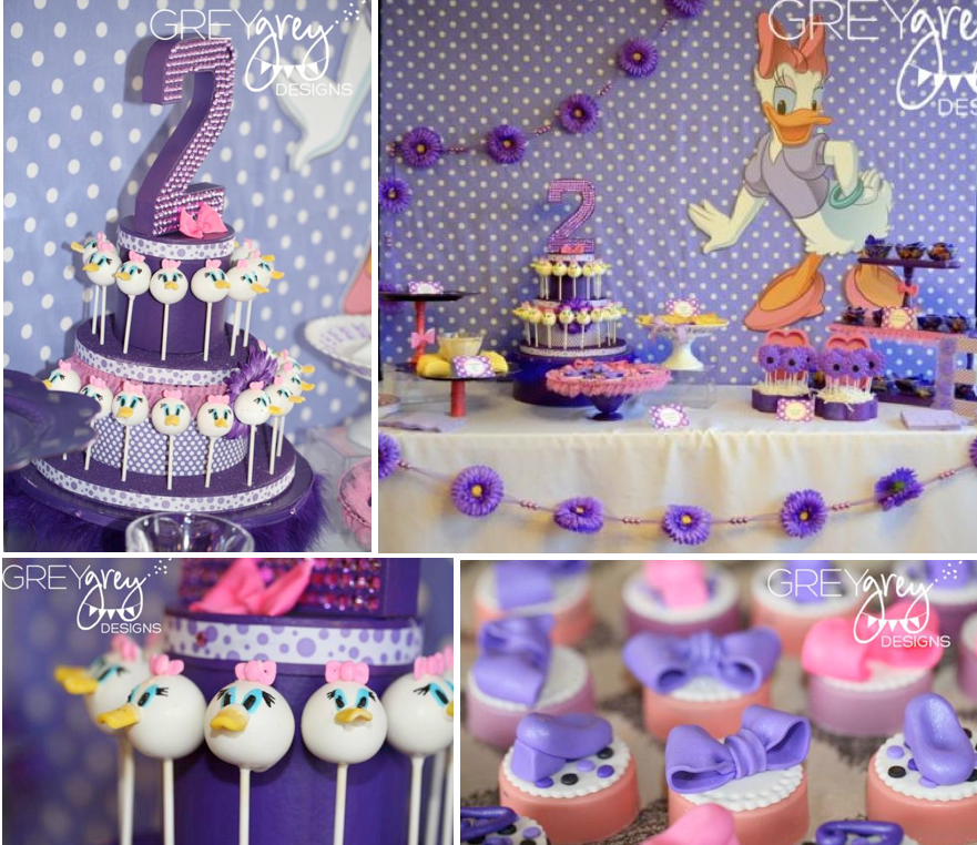 Disney via Karas Party Ideas karaspartyideascom disney daisy duck