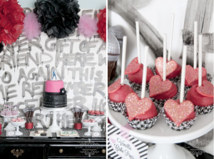 Demi Lovato Rock Star Themed Birthday Party via Kara's Party Ideas karaspartyideas.com #rockstar #demi #lovato #party #ideas