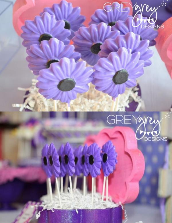 Kara S Party Ideas Disney Daisy Duck Purple Girl 2nd