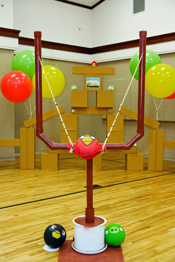Kara 39 s party ideas angry birds boy video game birthday for Real life fishing games