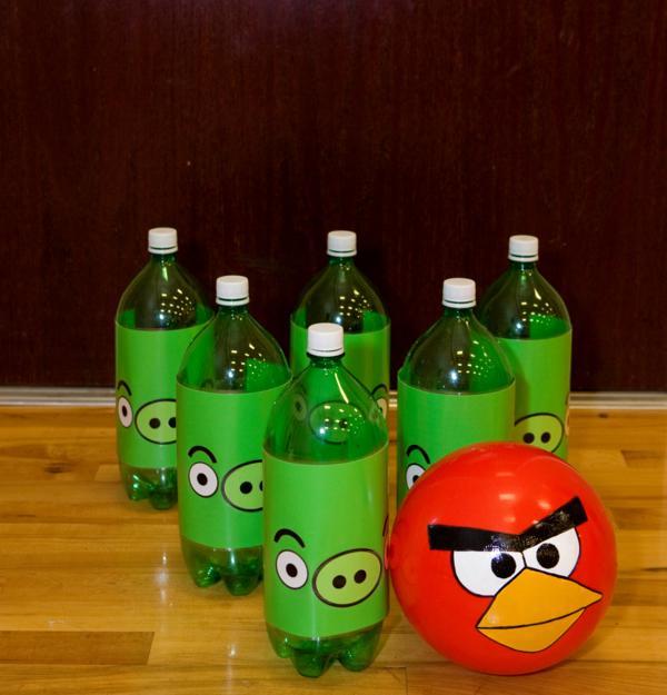 Karas party ideas angry birds boy video game birthday party this solutioingenieria Choice Image