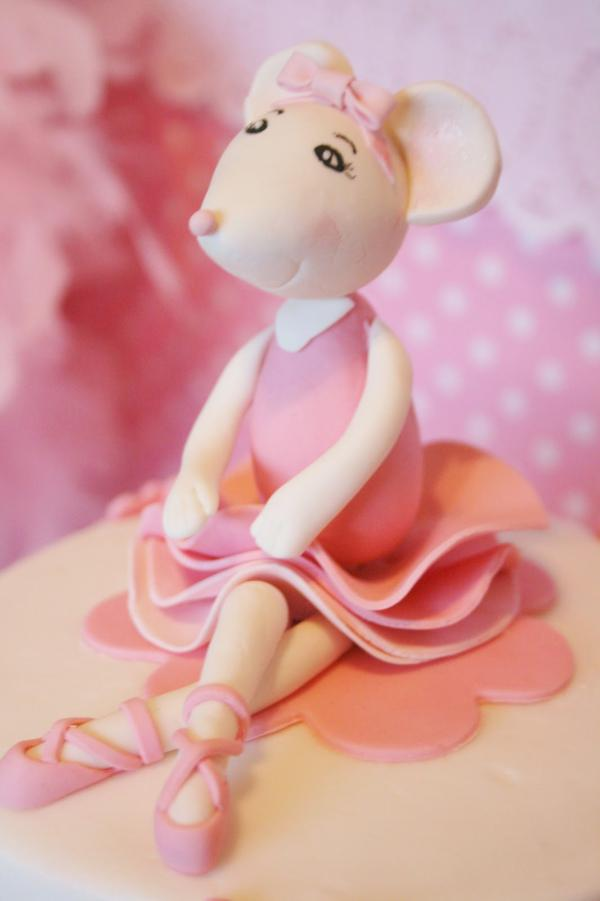 Kara S Party Ideas Pink Angelina Ballerina Girl Ballet