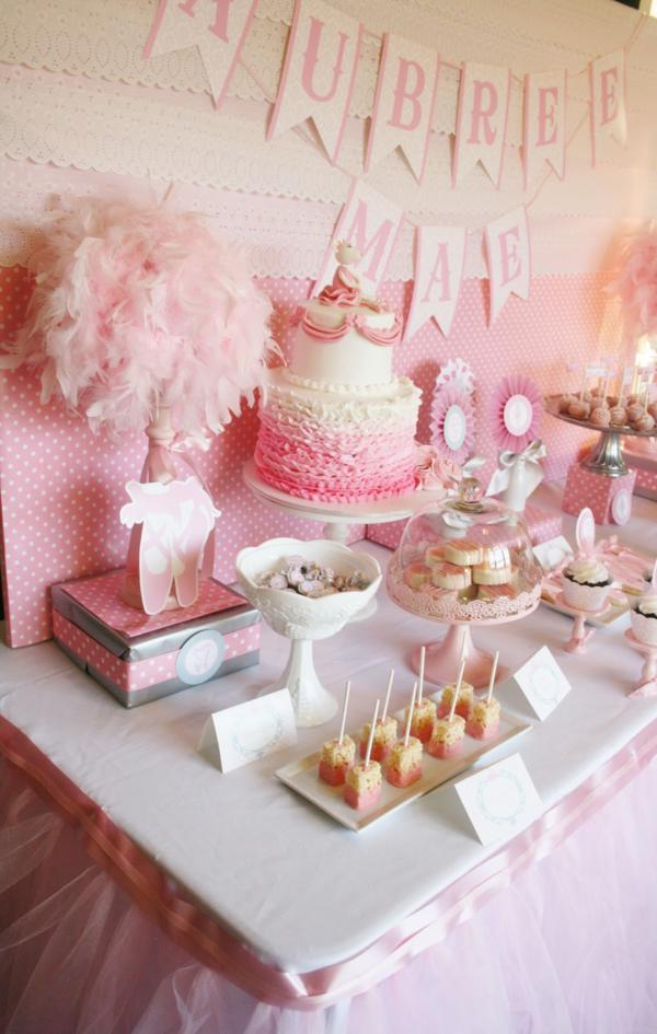 Kara's Party Ideas Pink Angelina Ballerina Girl Ballet ...