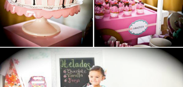 Ice Cream themed 2nd birthday party via Kara's Party Ideas karaspartyideas.com #icecream #party