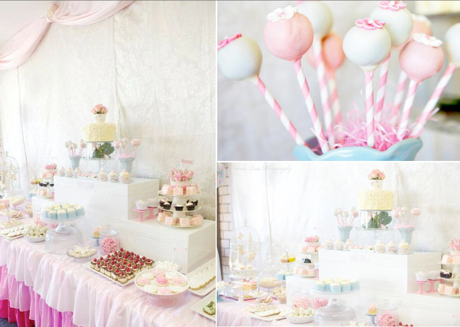 Karas Party Ideas Ladies Girl Shabby Vintage High Tea Party