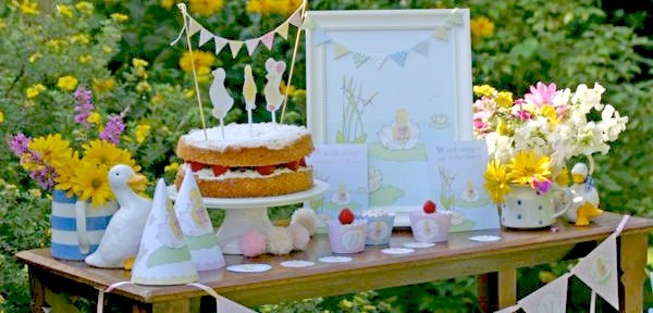 Little Duckling Duck Birthday Party via Kara's Party Ideas karaspartyideas.com #book #birthday #party #duckling #little #duck #shower #baby
