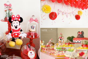 Minnie Mouse Birthday Party via Kara's Party Ideas karaspartyideas.com #minnie #mouse #birthday #party #idea