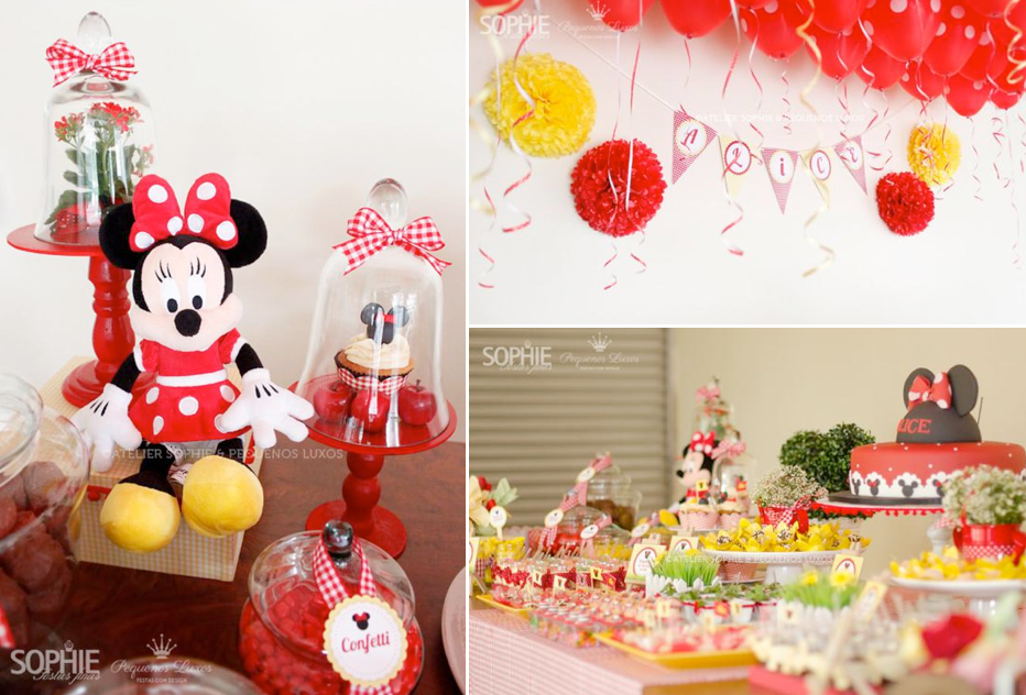 Gorgeous Minnie Mouse Themed Birthday