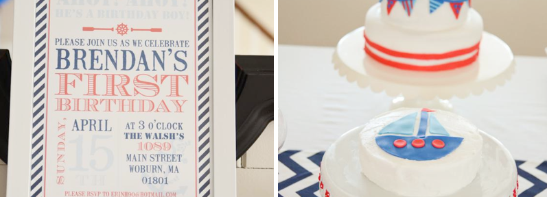 Nautical Sailboat Boy Birthday Party via Kara's Party Ideas karaspartyideas.com #nautical #party #ideas #sail
