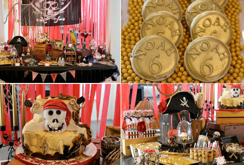 Karas Party Ideas Pirate Boy Captain Jack Sparrow 6th Birthday Planning