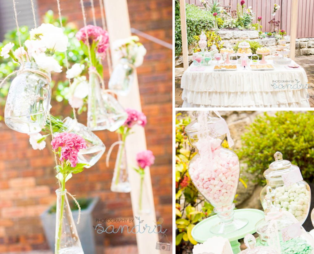 Karas Party Ideas Shabby Chic Vintage High Tea Party Bridal Shower