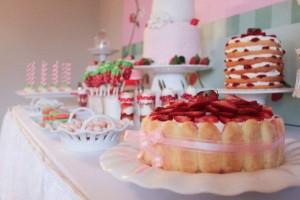 Strawberry Shortcake Birthday Party via Kara's Party Ideas karaspartyideas.com #strawberry #shortcake #party #ideas-1