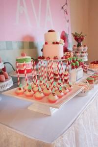 Strawberry Shortcake Birthday Party via Kara's Party Ideas karaspartyideas.com #strawberry #shortcake #party #ideas-10