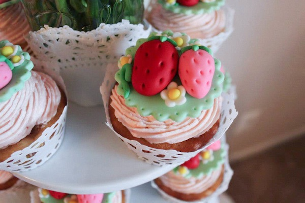 Strawberry Shortcake Birthday Party via Kara's Party Ideas karaspartyideas.com #strawberry #shortcake #party #ideas-11