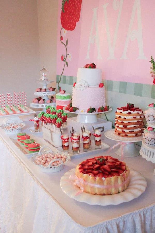 Kara's Party Ideas Strawberry Shortcake Girl 2nd Birthday ...